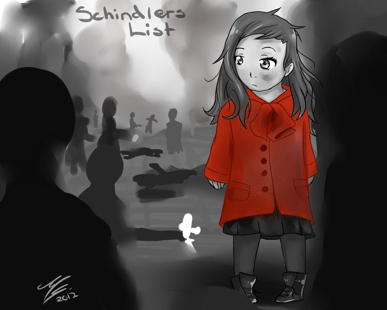 Girl In Red - Schindlers List by Ami-Cat on DeviantArt Schindlers ...