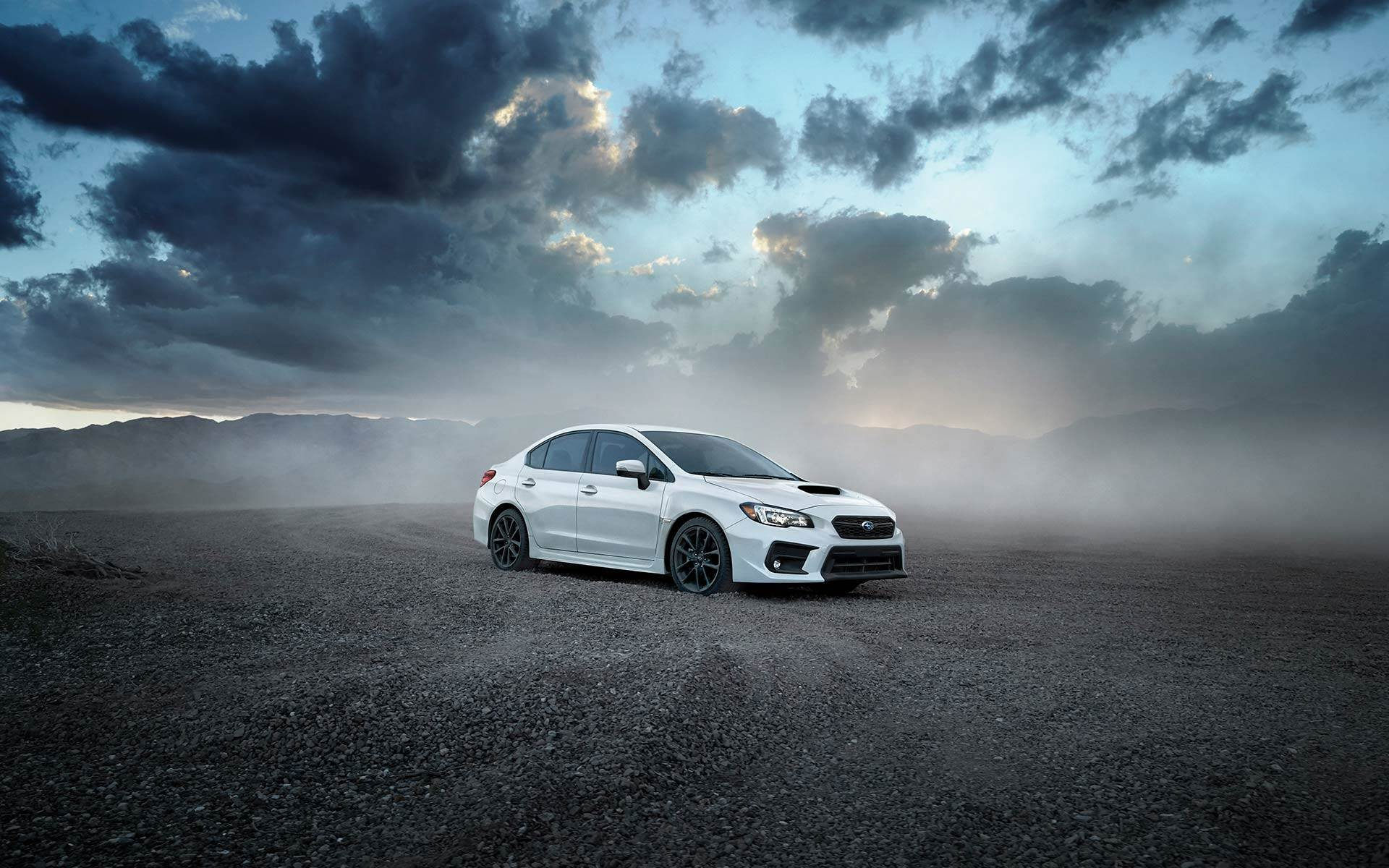 2019 Subaru WRX STI White Color 4k hd wallpaper - Latest Cars 2018-2019