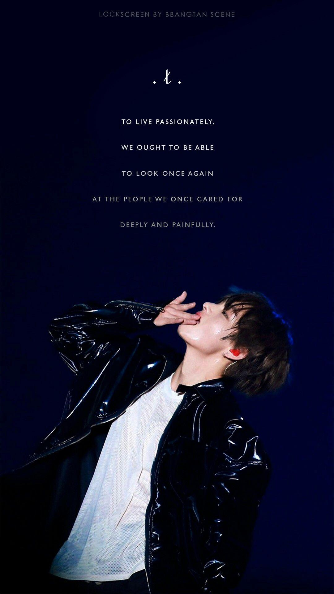 Bts Quotes Wallpapers Wallpaper Cave
