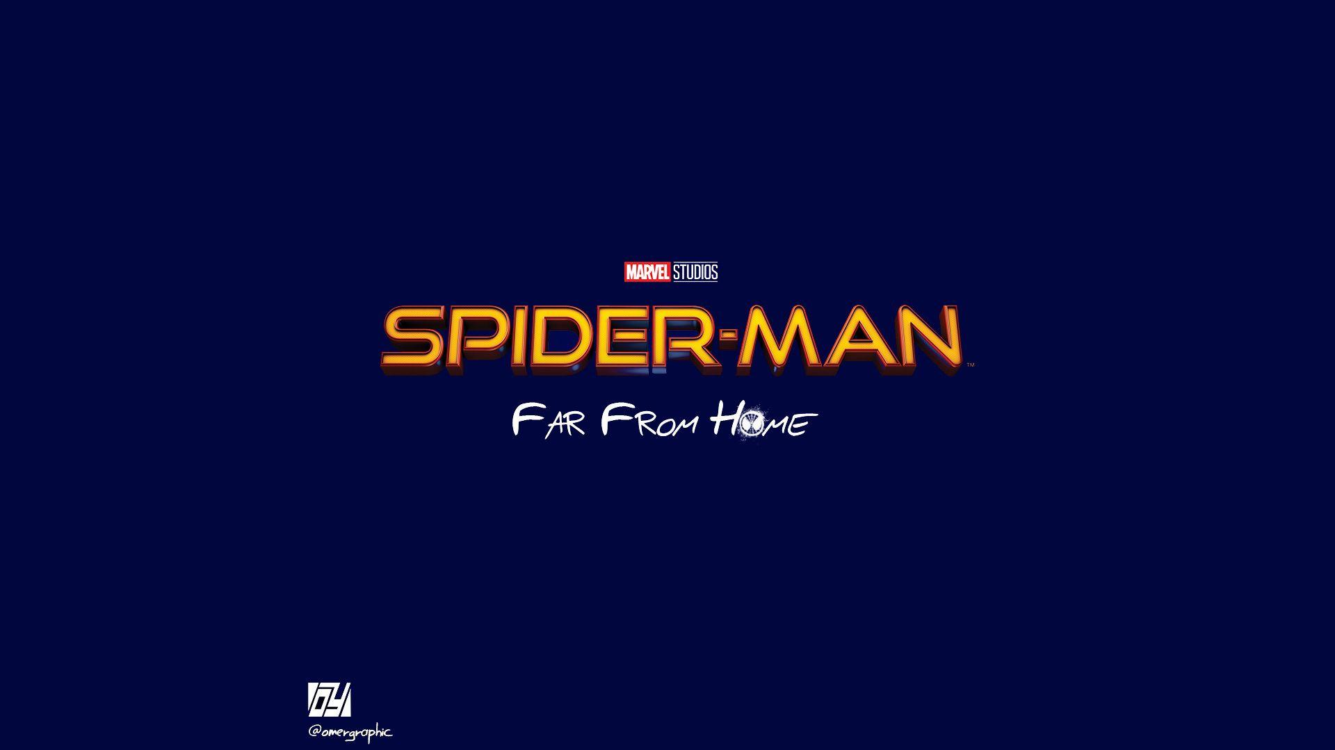 Spiderman Far From Home Movie Logo, HD Movies, 4k Wallpapers, Image