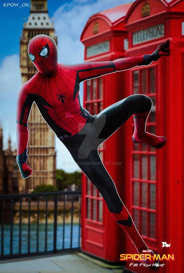 Poster: Spiderman Far From Home