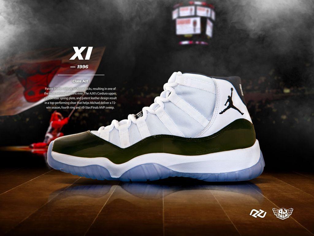 znana marka wylot online buty do biegania Air Jordan 11 Concord Wallpapers - Wallpaper Cave