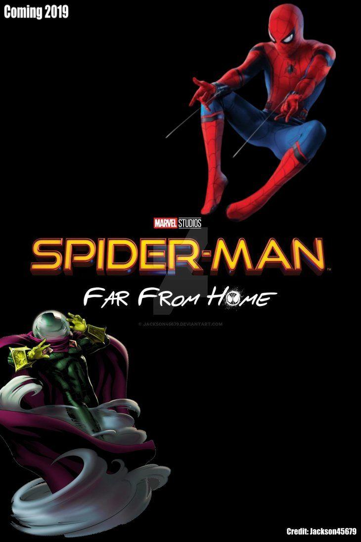 Spider Man Far From Home Poster by Jackson45679