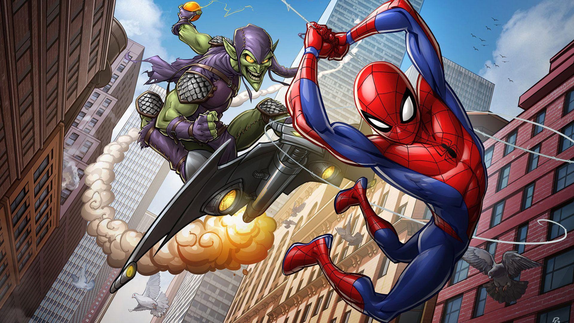 Spider-Man Cartoon HD Wallpapers - Wallpaper Cave