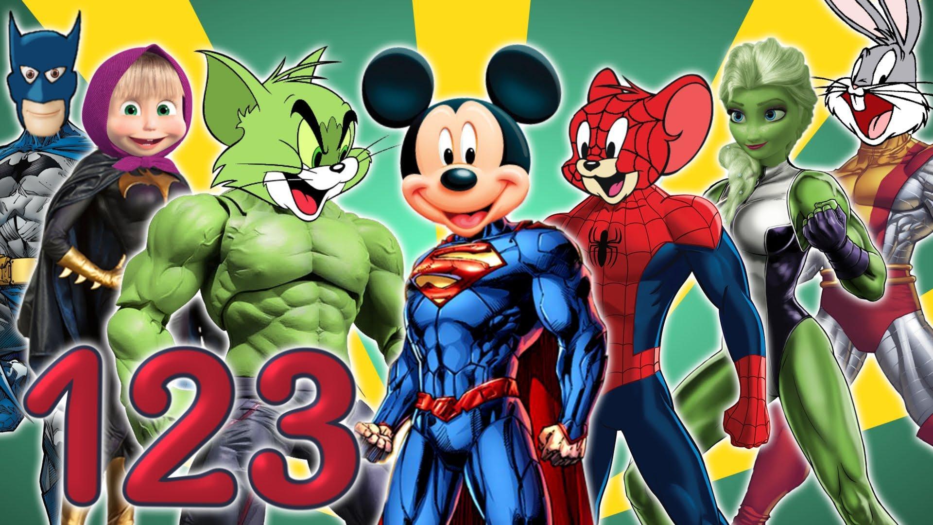 Superheroes Cartoon Wallpapers - Wallpaper Cave