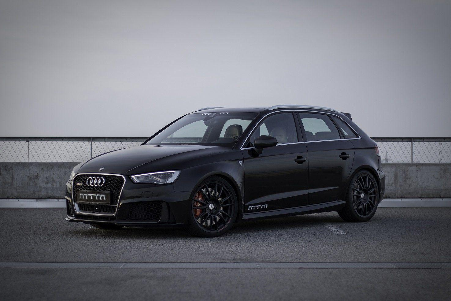 MTM Audi RS3 Sportback cars black modified wallpapers