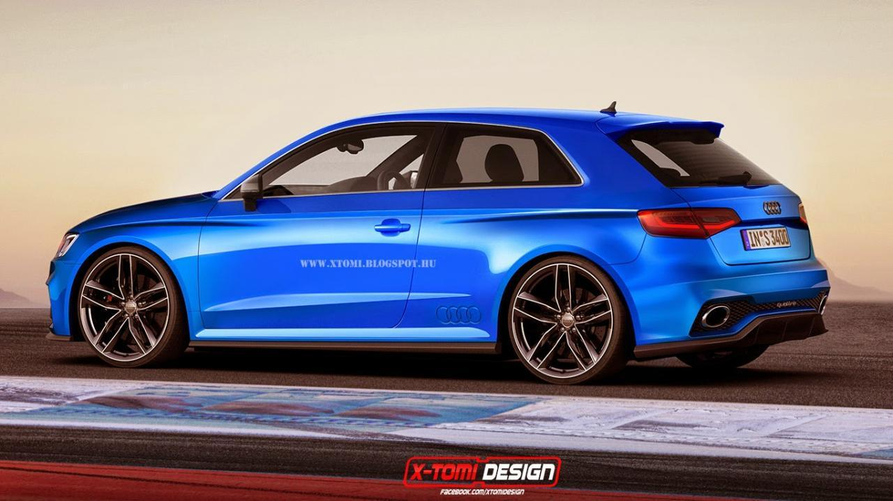 2015 Audi RS3 three