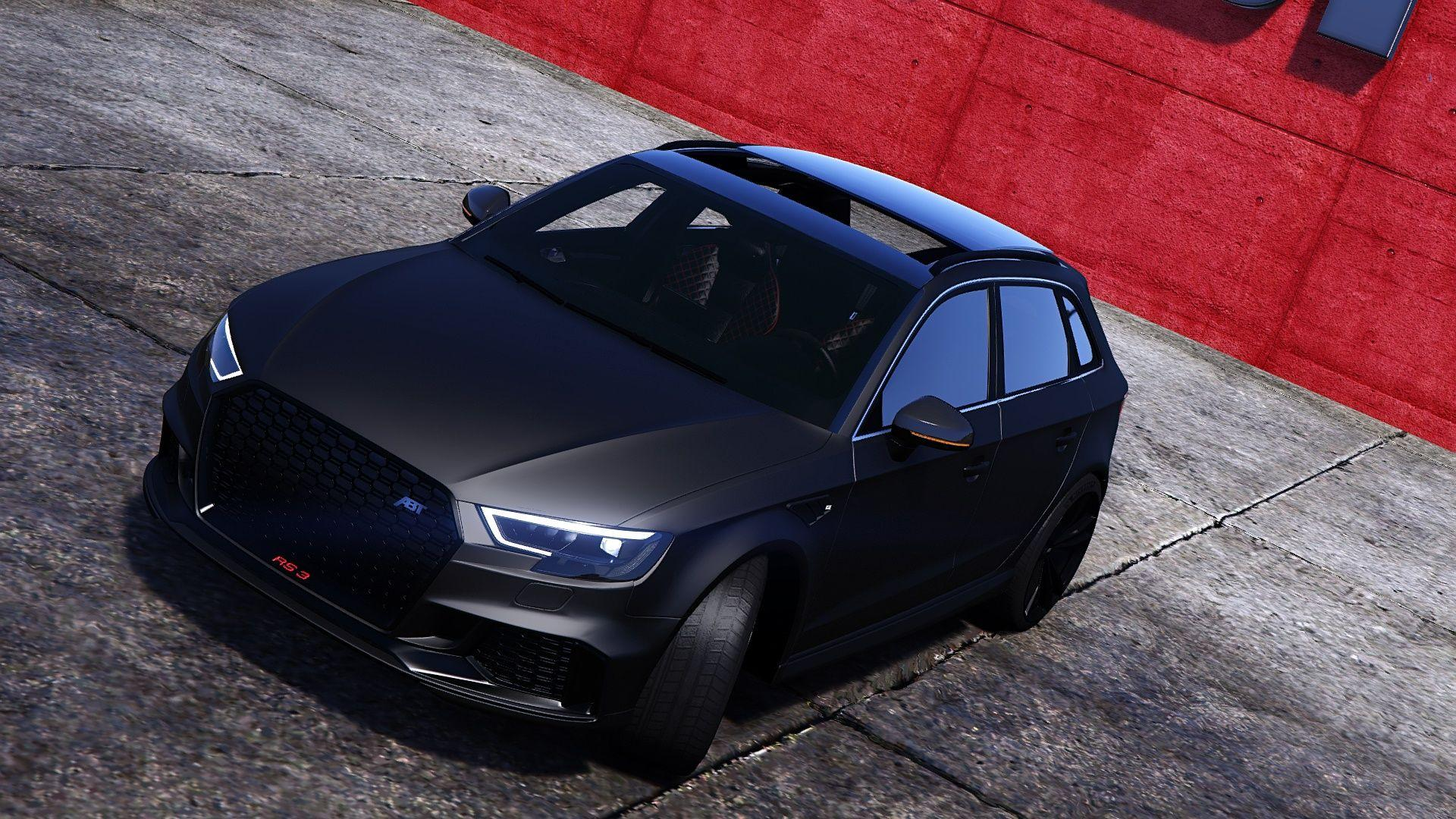 Audi rs3 Sportback 2018 [Add-on/Tuning/ABT] - GTA5-Mods.com