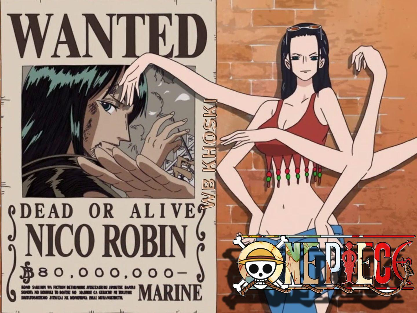 Nico Robin One Piece Wallpapers Wallpaper Cave