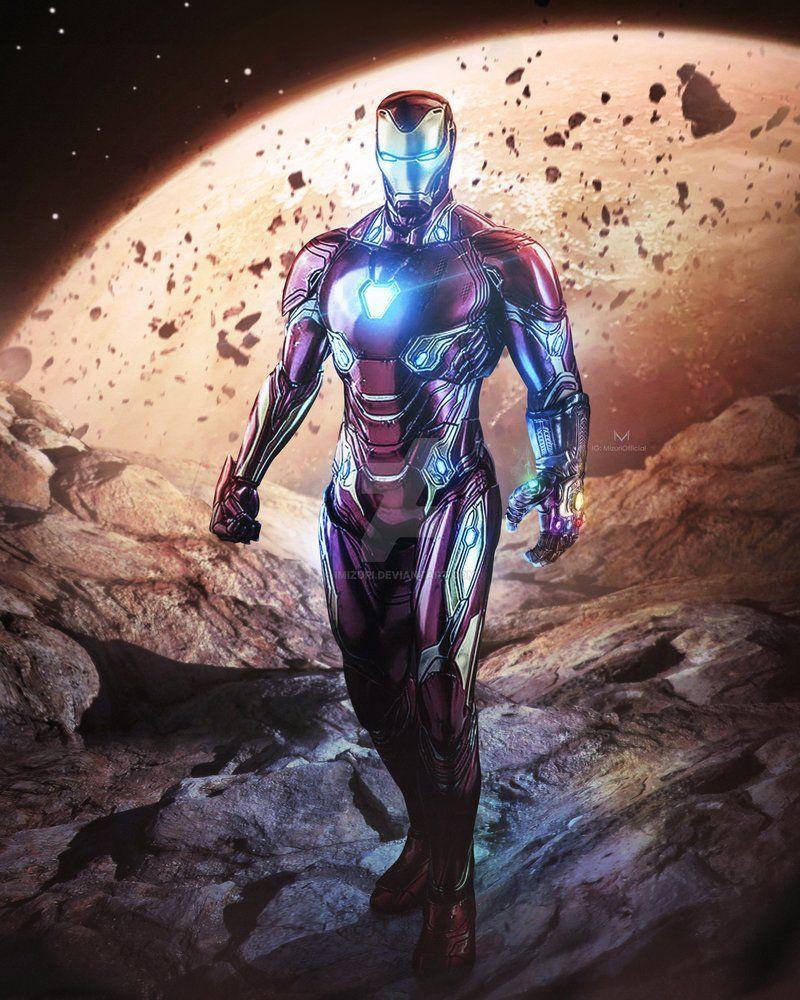 Iron Man Infinity Gauntlet Wallpapers - Wallpaper Cave