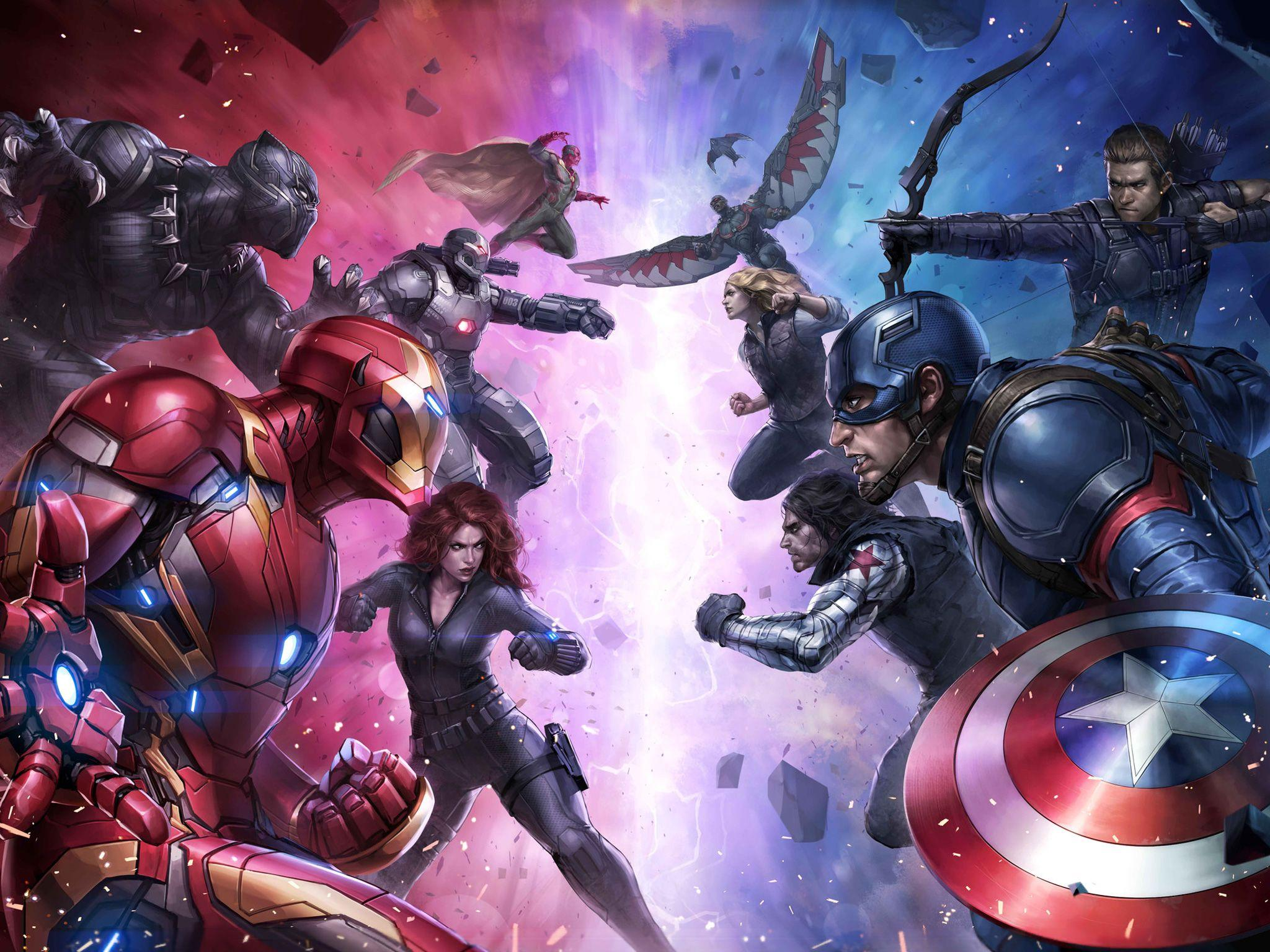 Marvel Future Fight Wallpapers Wallpaper Cave