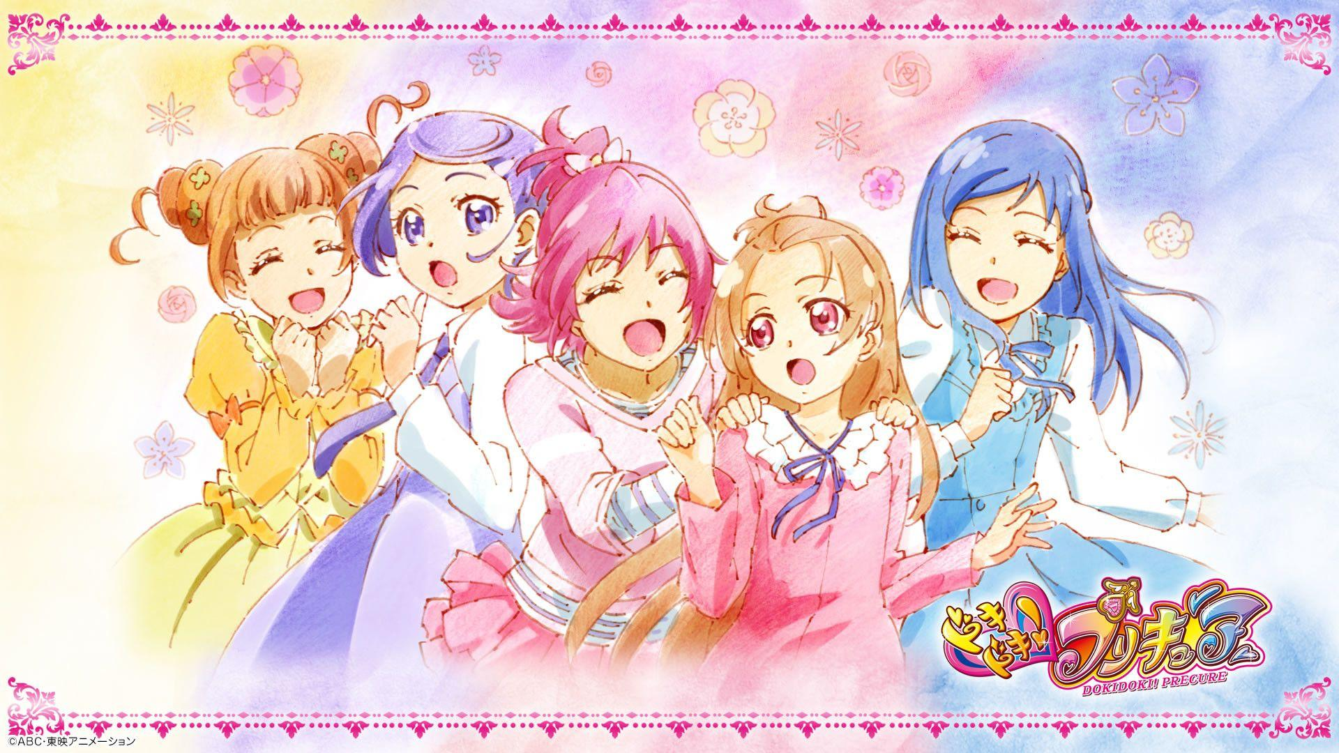 Anime Glitter Force Wallpapers