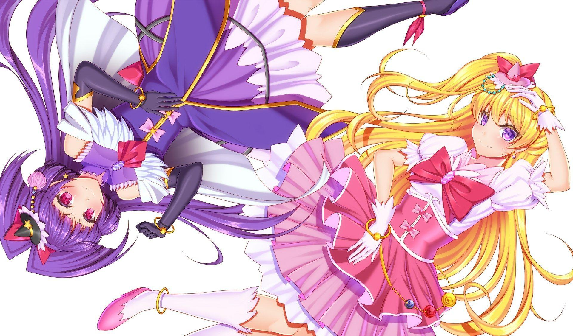 desktop wallpapers for maho girls precure, 1920x1128
