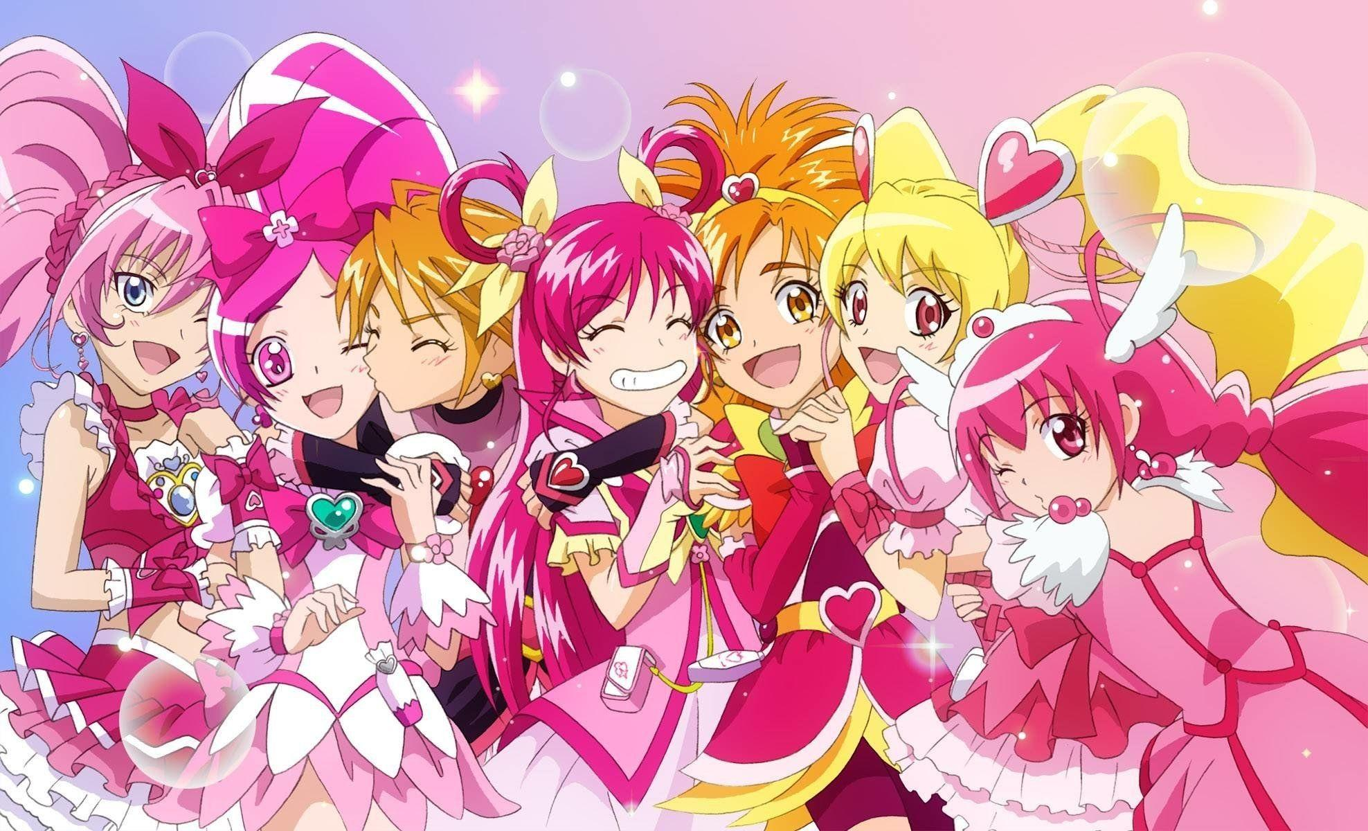 65+ Glitter Force Wallpapers