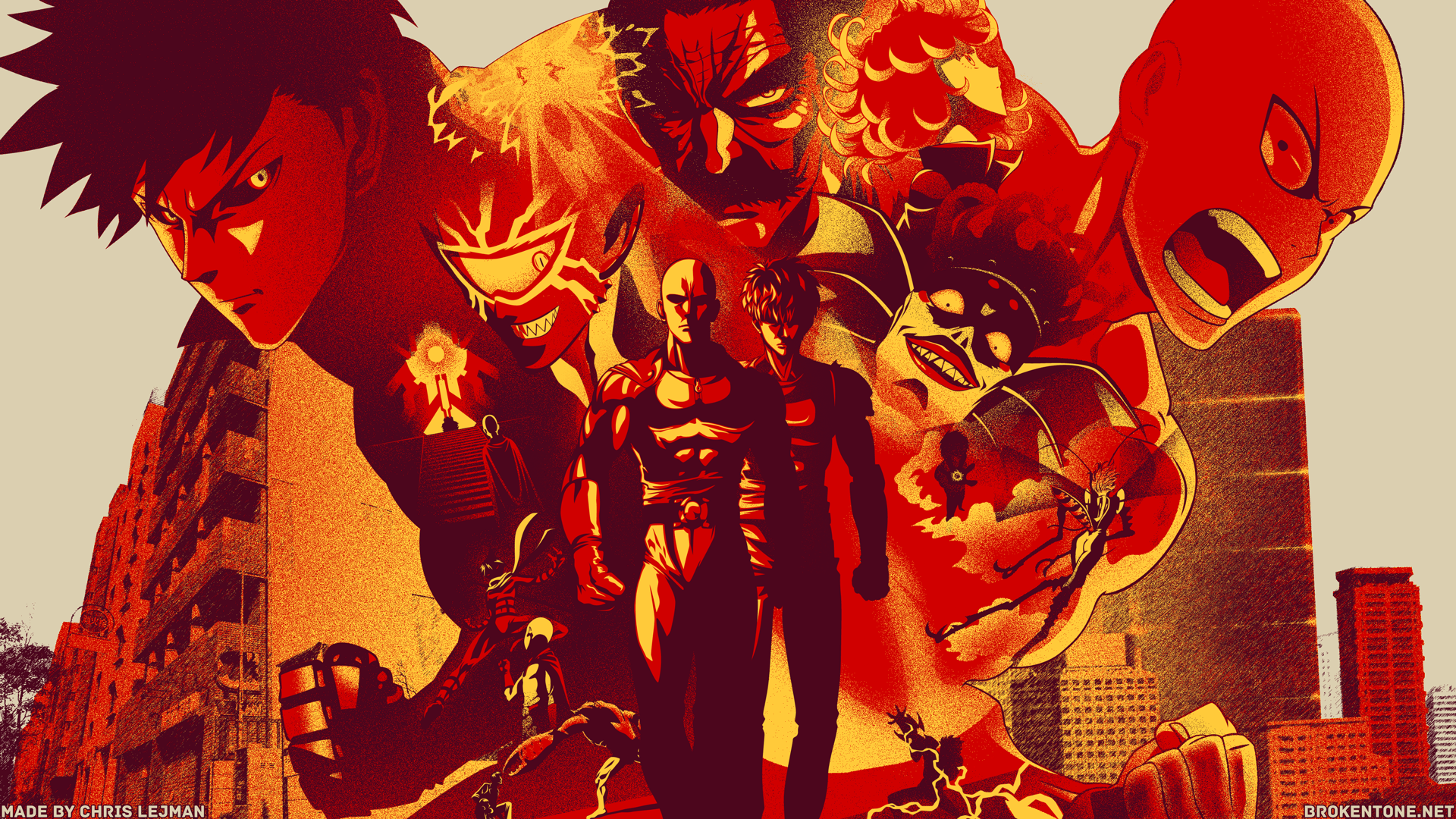 One Punch Man Season 2 Wallpapers Wallpaper Cave