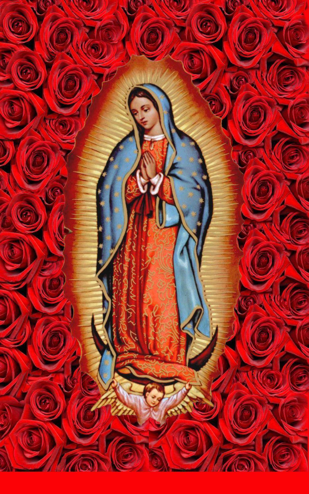 Virgen de guadalupe wallpapers wallpaper cave - Images of la virgen de guadalupe ...