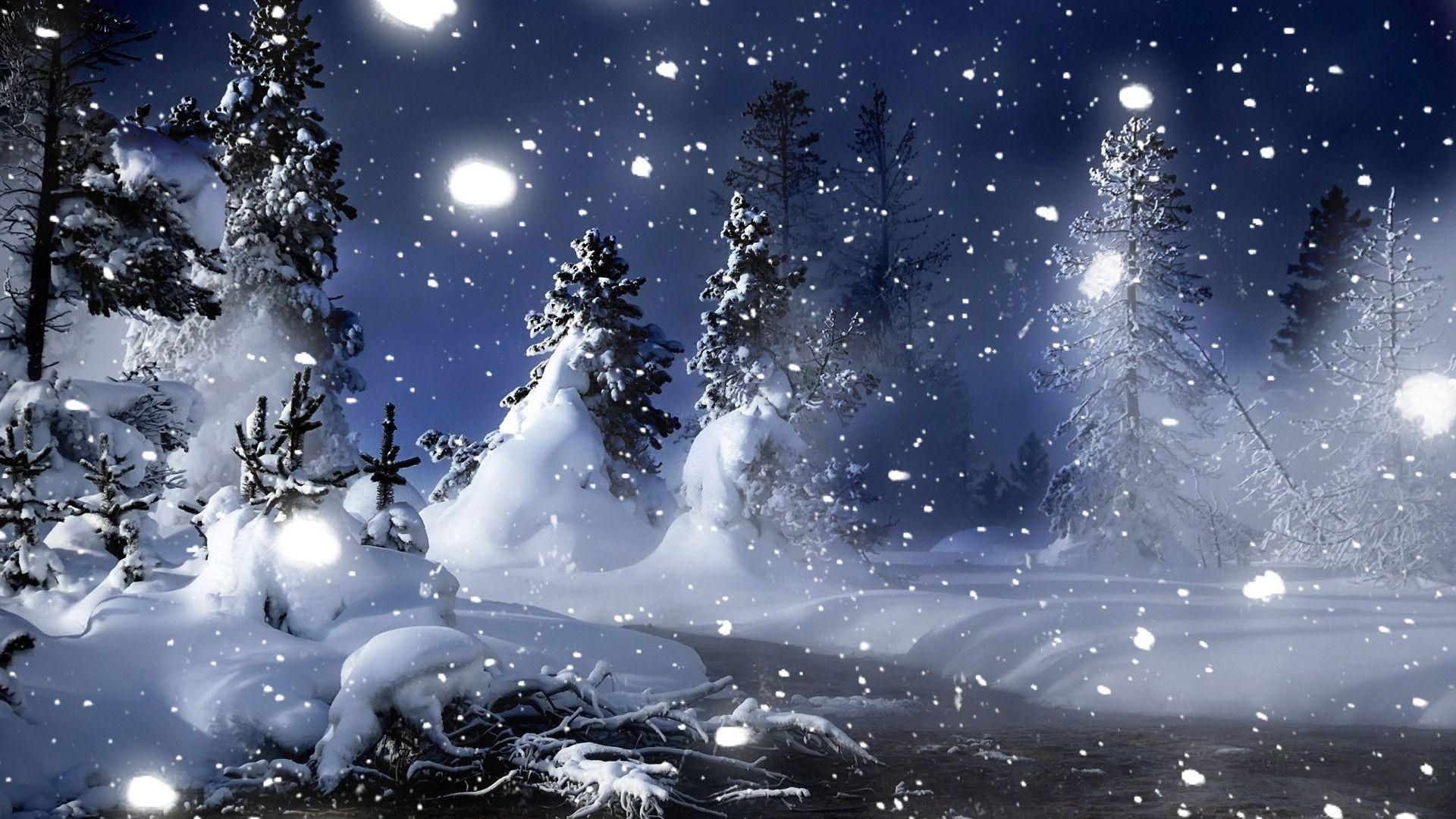Winter Snow Hd Wallpapers Wallpaper Cave