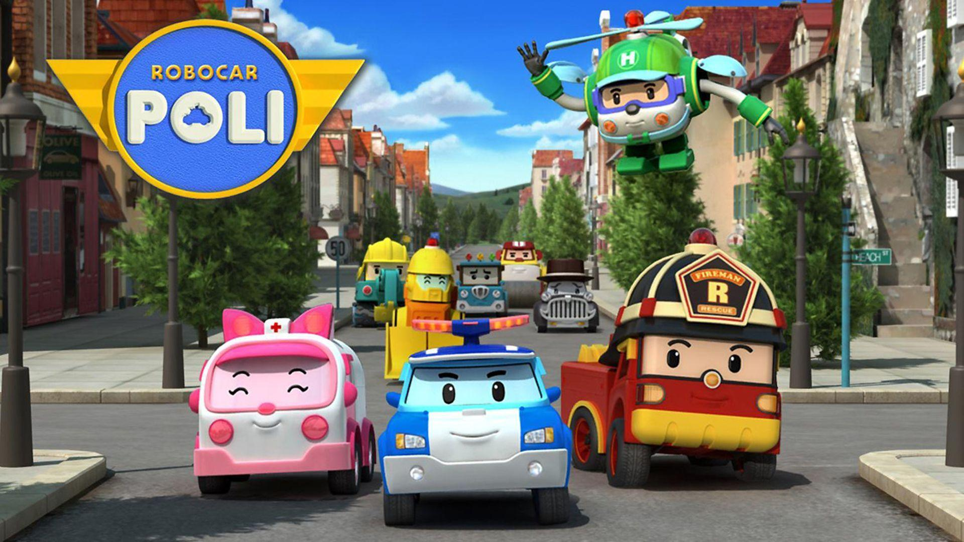Robocar Poli Wallpapers Wallpaper Cave