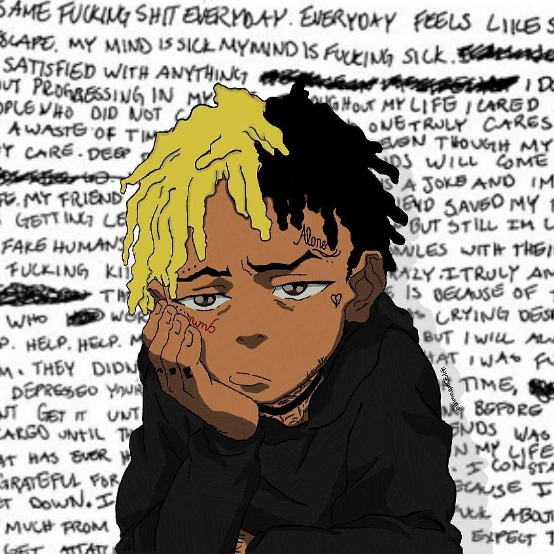 Cartoon Xxxtentacion Wallpapers Wallpaper Cave