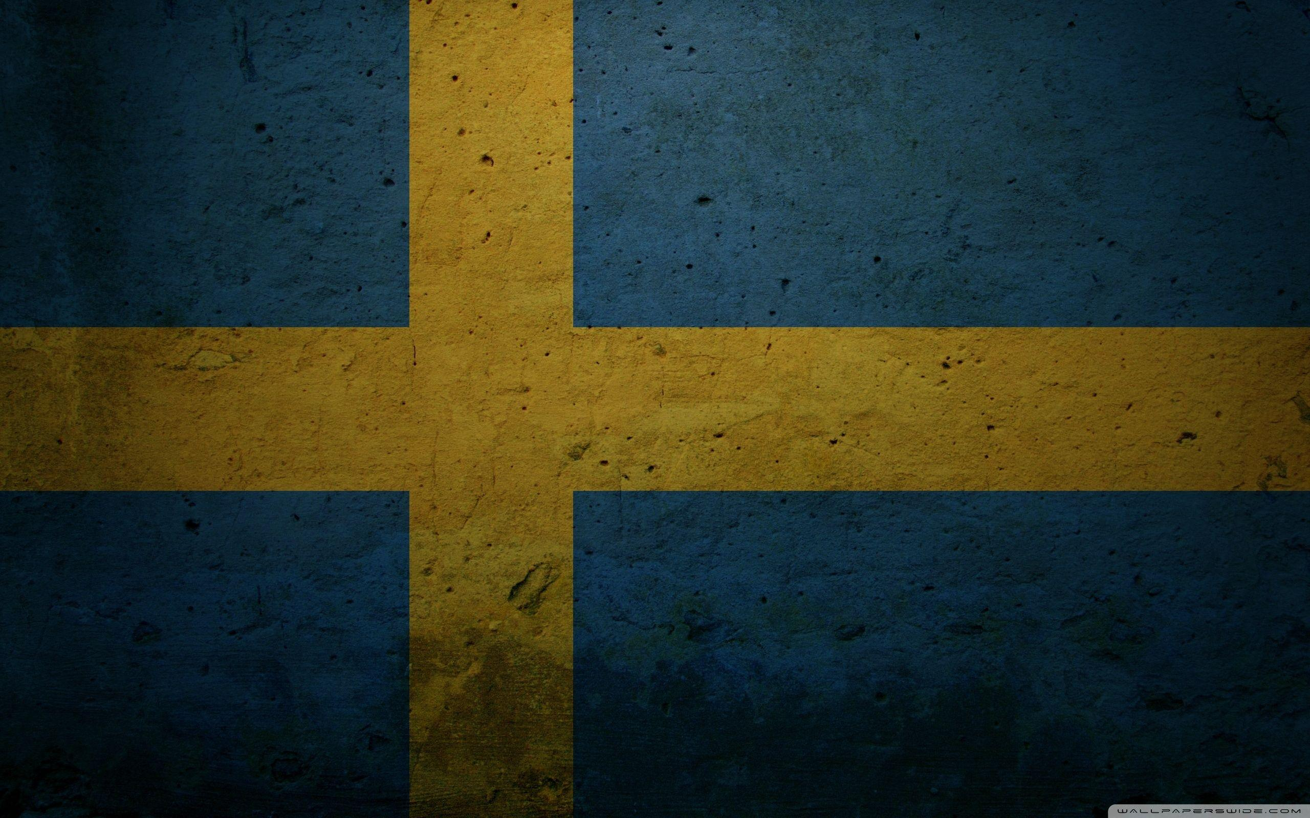 Grunge Flag Of Sweden ❤ 4K HD Desktop Wallpapers for 4K Ultra HD TV