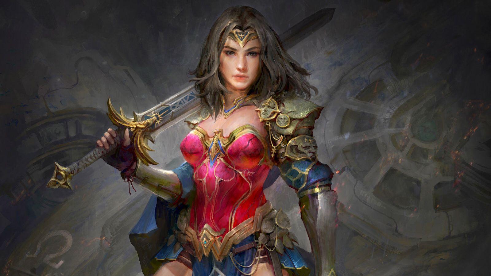 Wonder Woman 4K Wallpapers - Wallpaper Cave