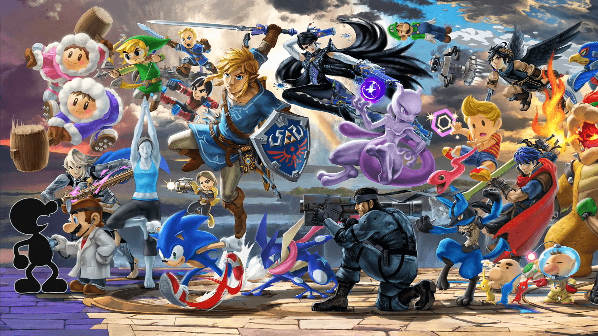 Smash Bros. Ultimate Wallpapers - Wallpaper Cave