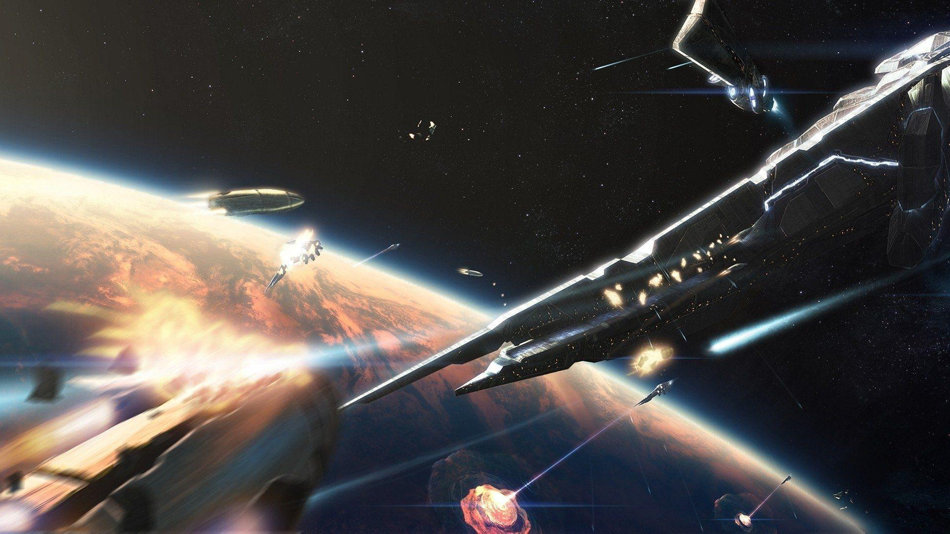 Download Space Battle Wallpapers
