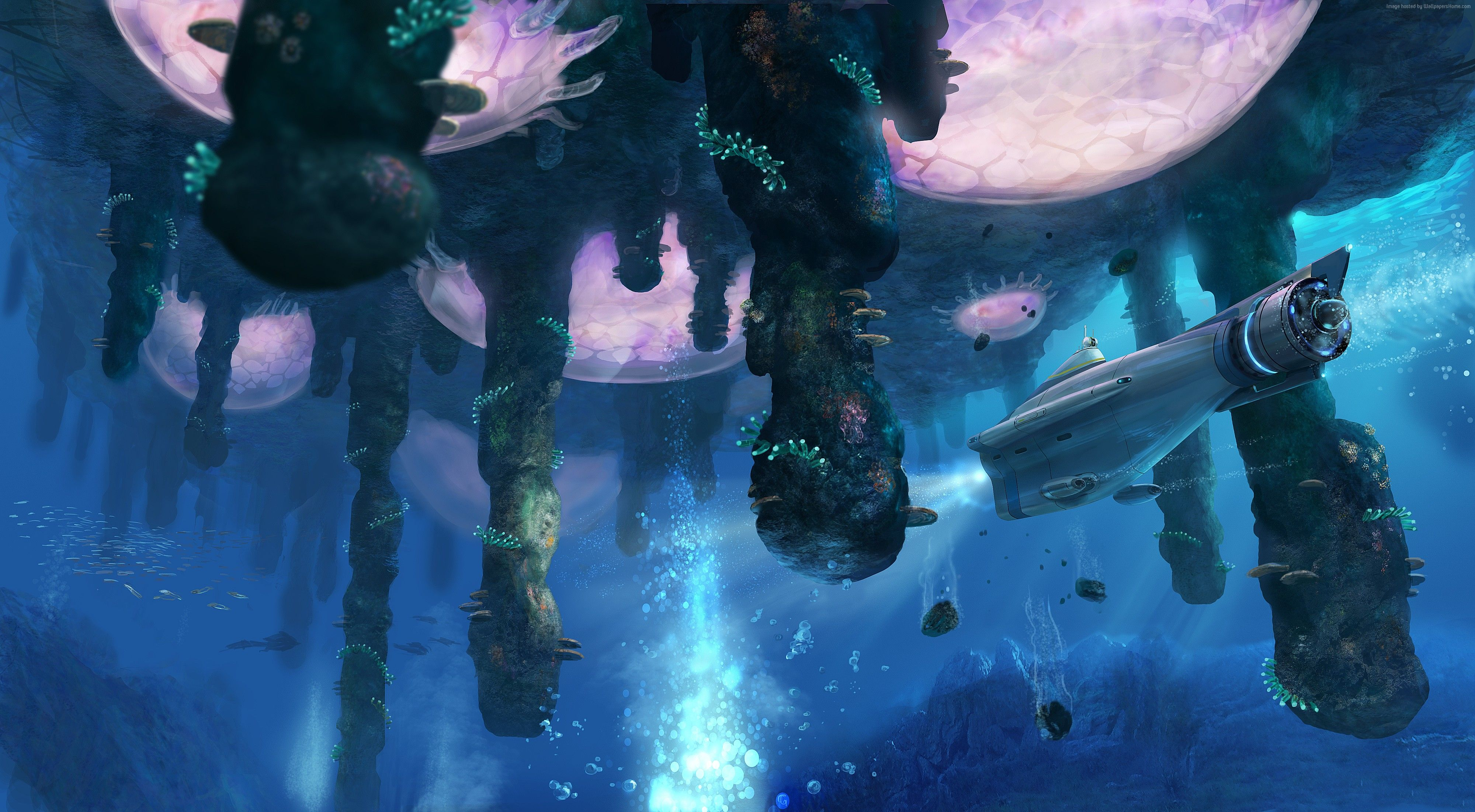 Subnautica HD Wallpapers and Backgrounds Image