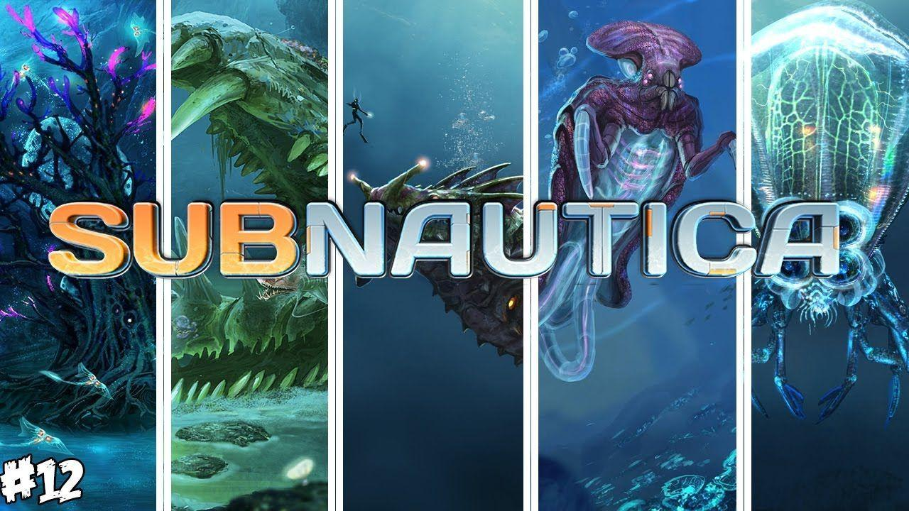 New subnautica seamonsters and biomes exploration !