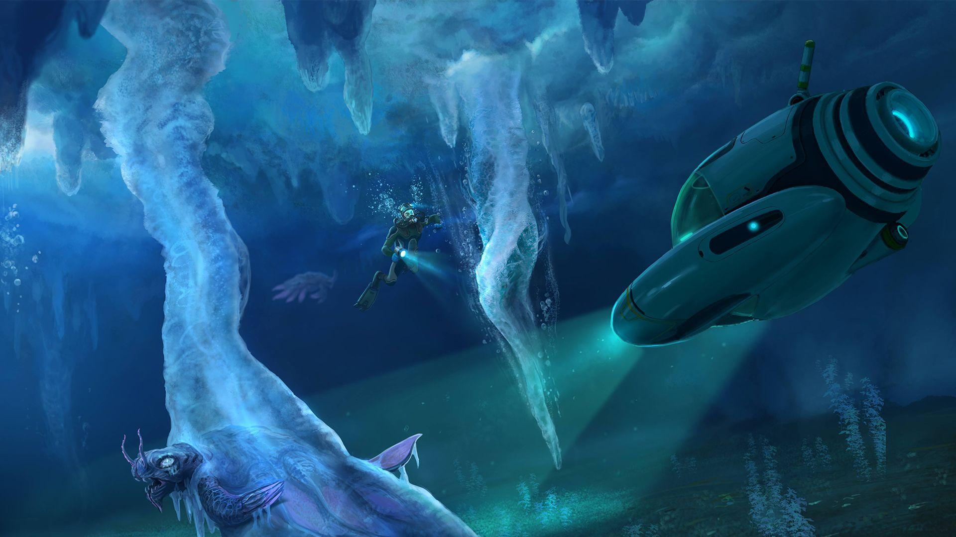 Subnautica goes arctic in Below Zero, a new expansion playable this
