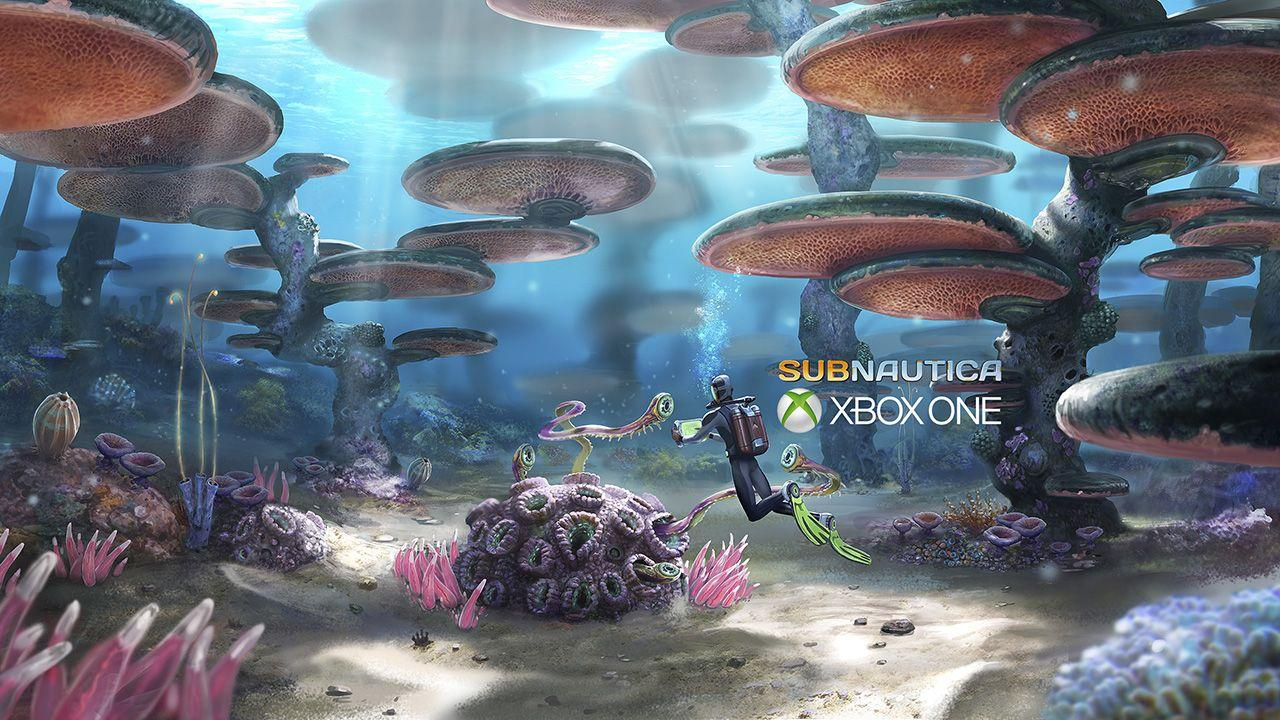 Subnautica Xbox Preview Releases on 17 May