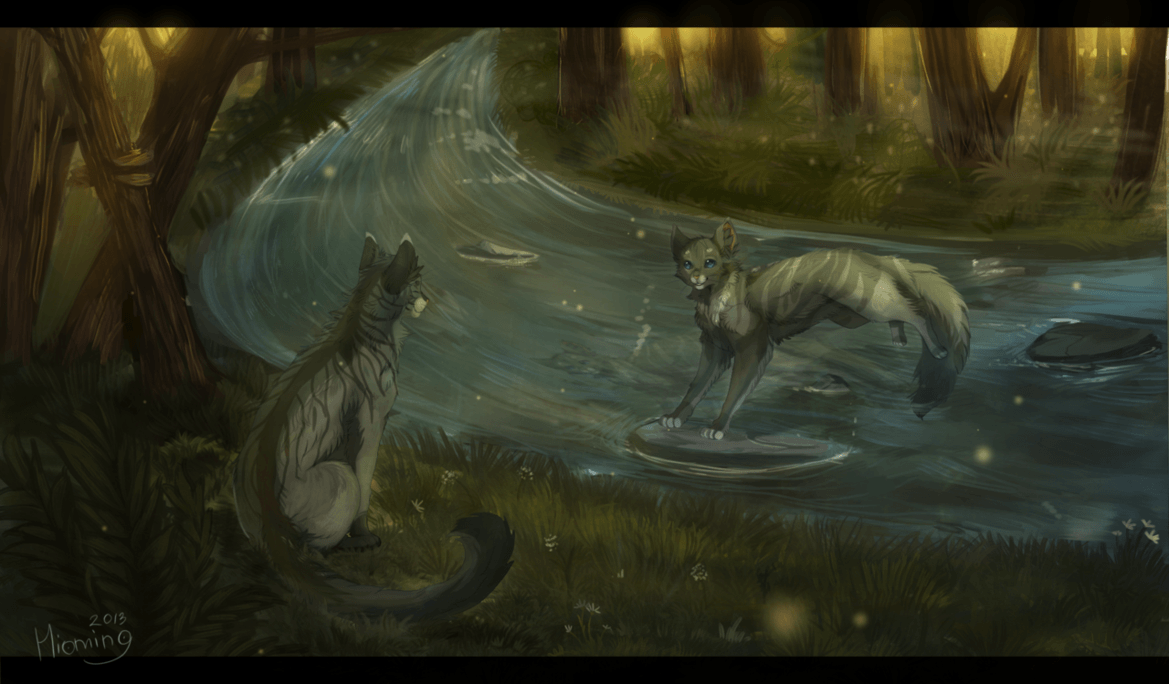Graystripe Warrior Cats Wallpapers - Wallpaper Cave