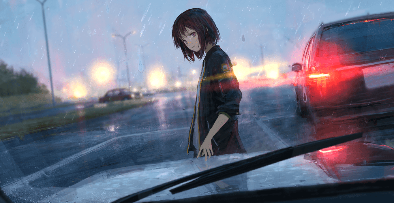 Anime rain wallpapers wallpaper cave - Anime rain wallpaper ...