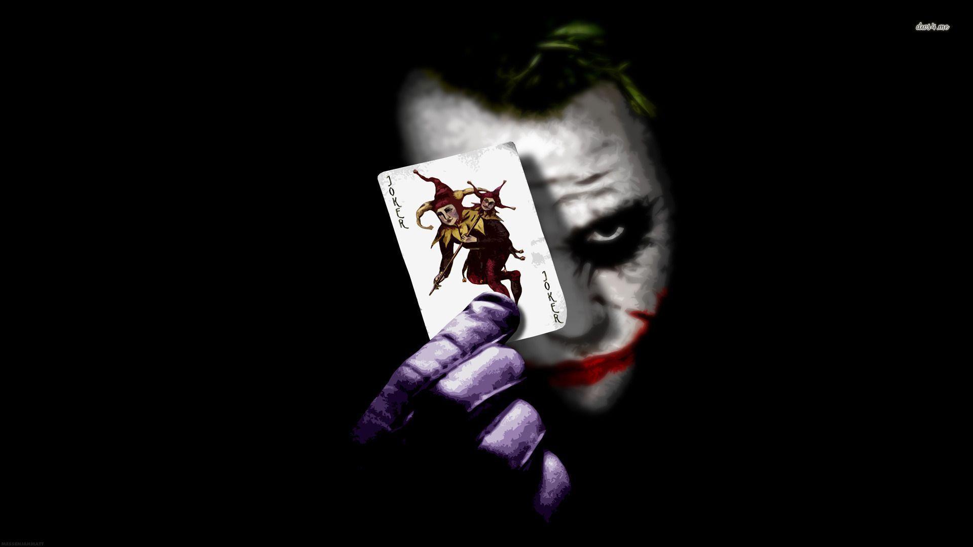 Joker Cards Wallpapers Wallpaper Cave