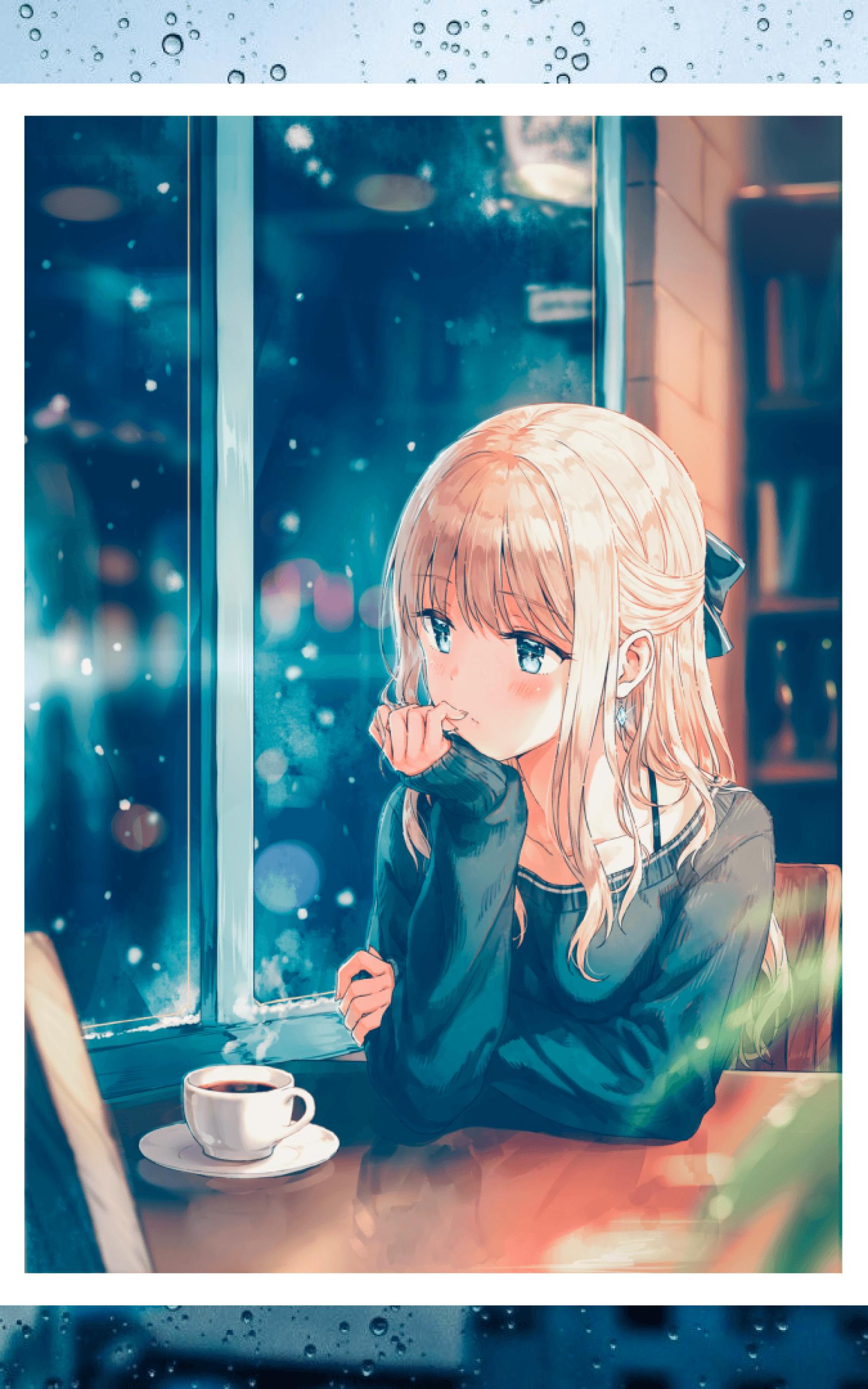 Anime Rain Wallpapers - Wallpaper Cave