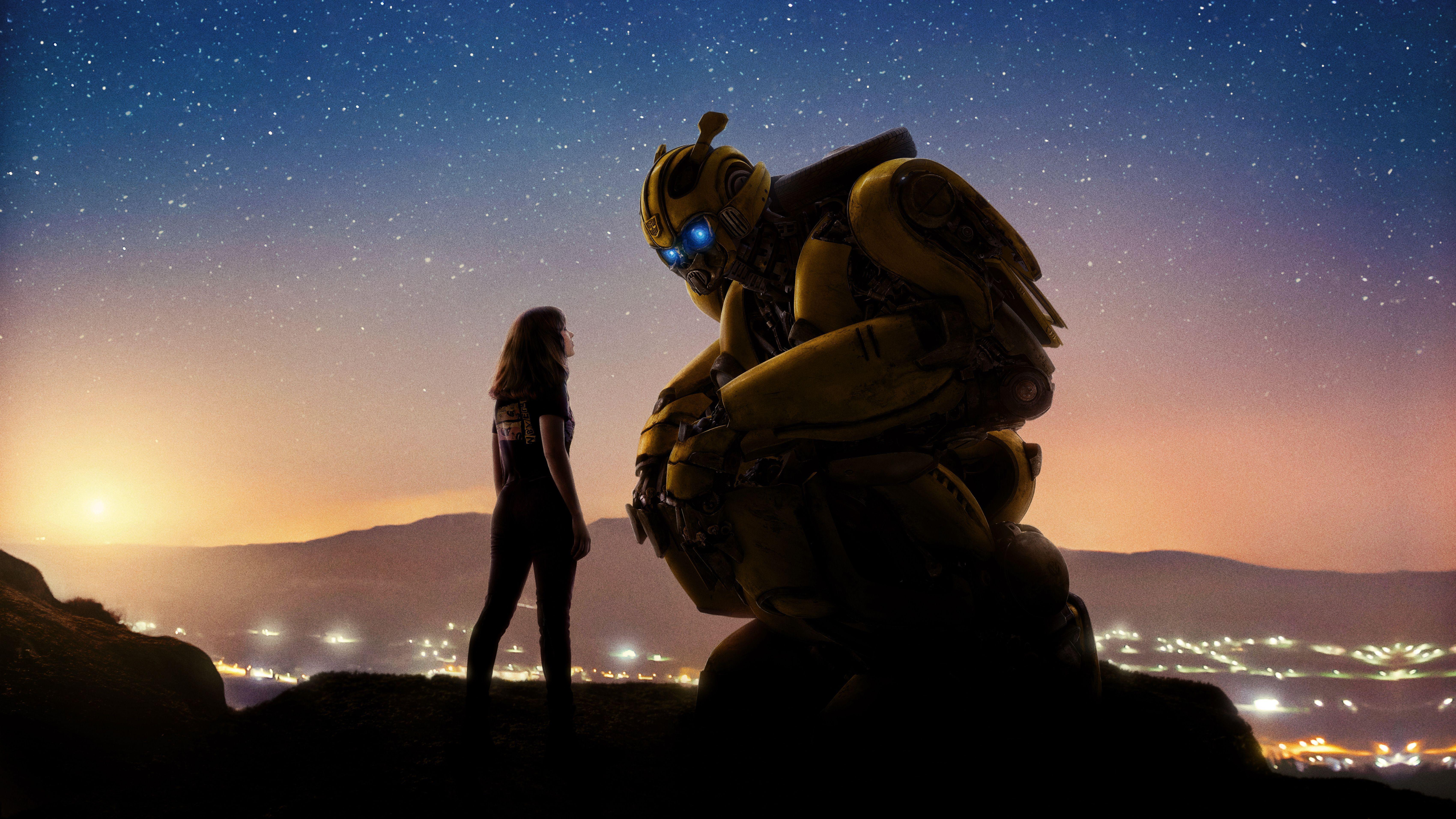 Bumblebee Movie 2018 Wallpapers Wallpaper Cave