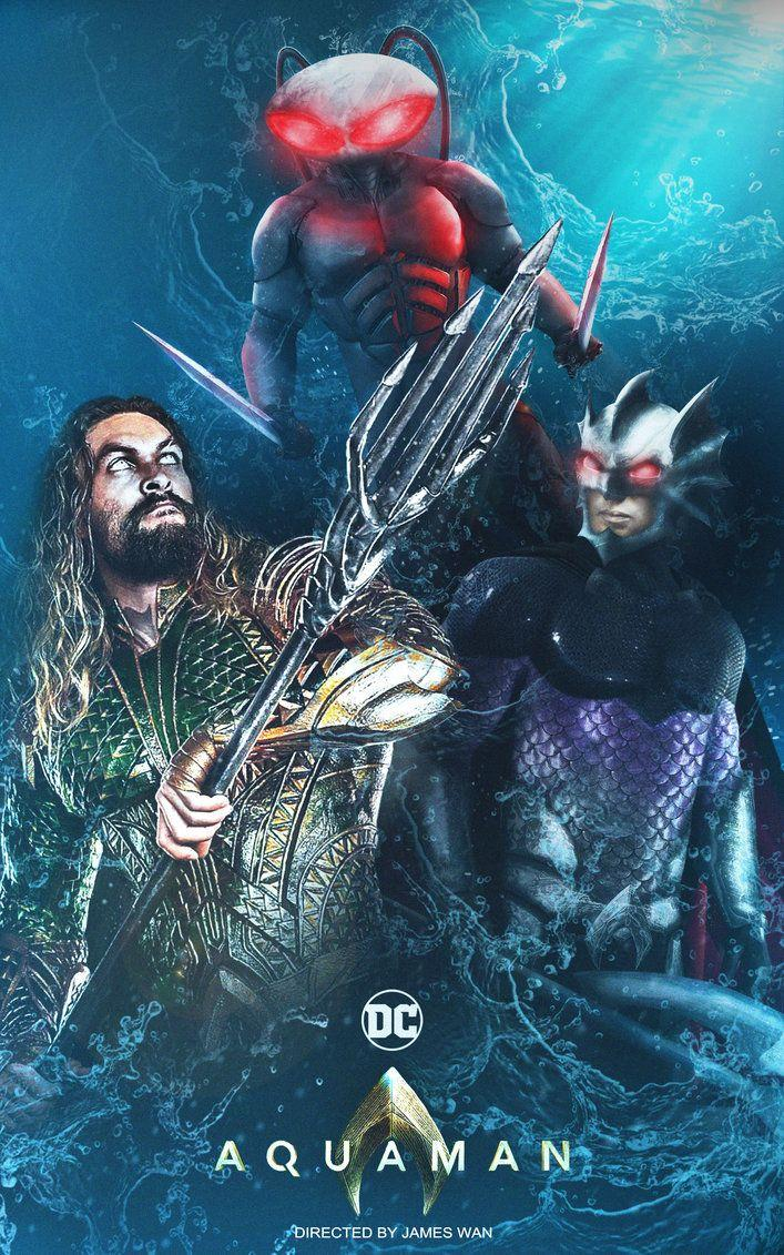 Aquaman Movie Poster by DigestingBat on