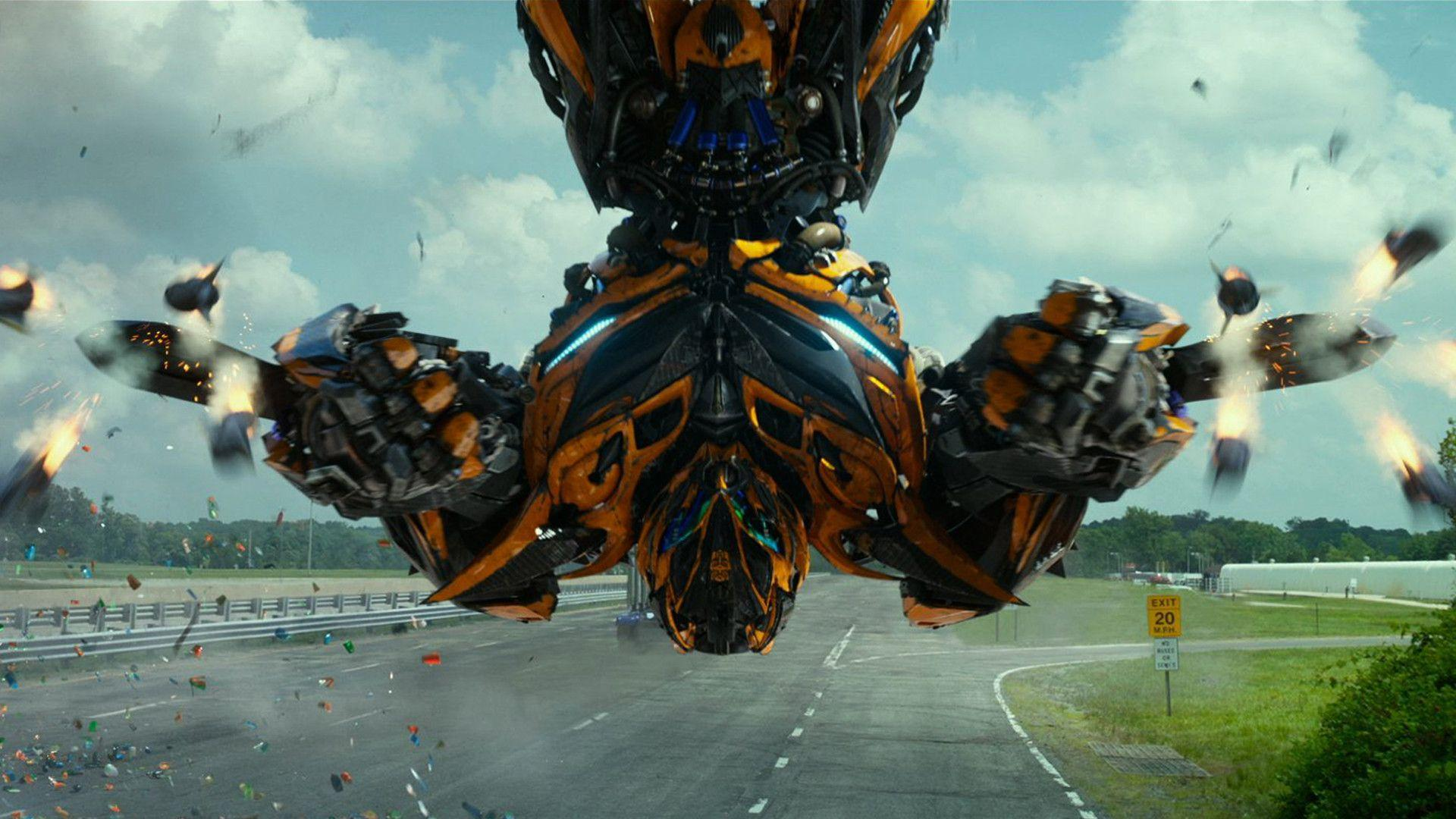 Transformers 4 Bumblebee Wallpapers Wallpaper Cave
