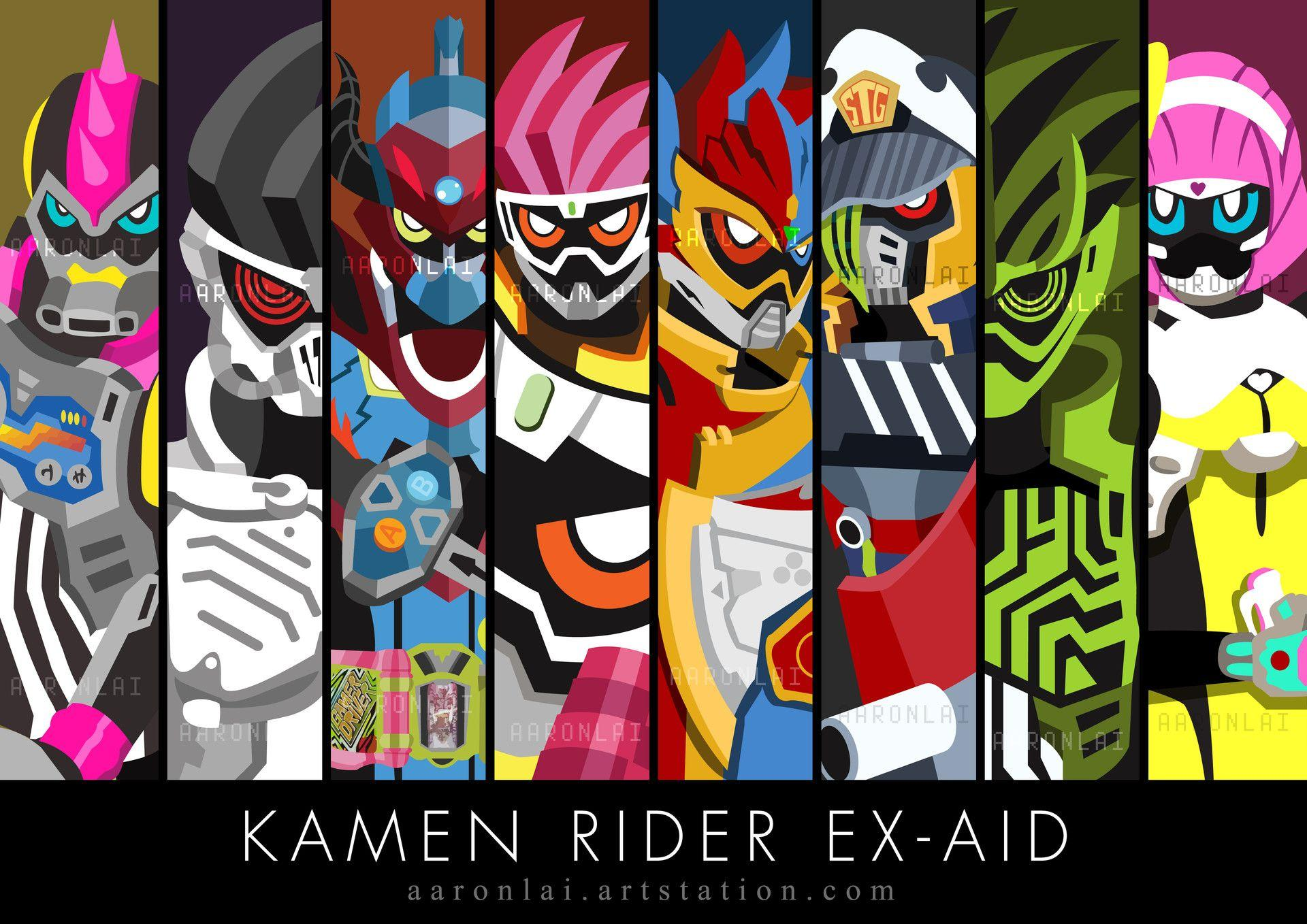 Kamen Rider Ex Aid Wallpapers Wallpaper Cave