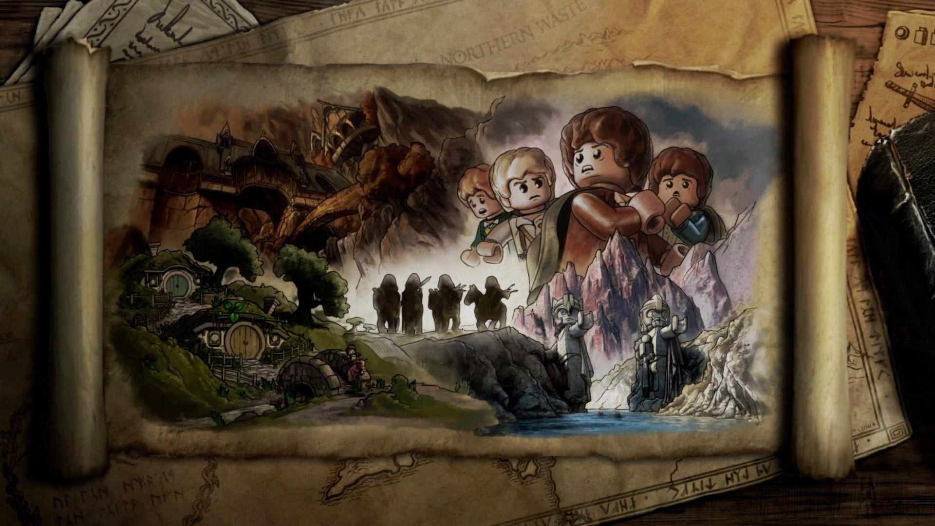 Rings The Lord of the Rings artwork The Fellowship of the Ring Legos
