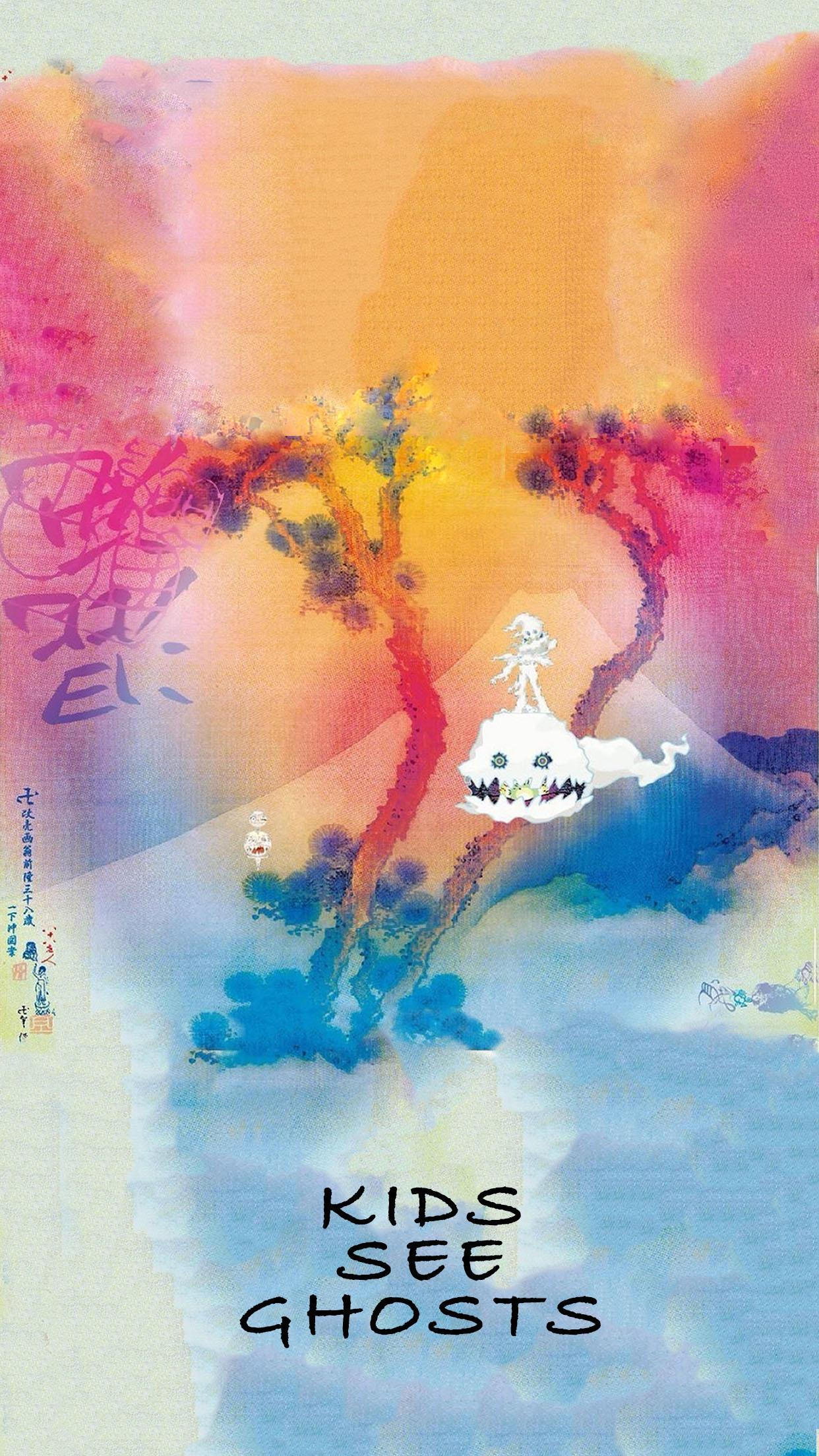 Kids See Ghosts Wallpapers Wallpaper Cave