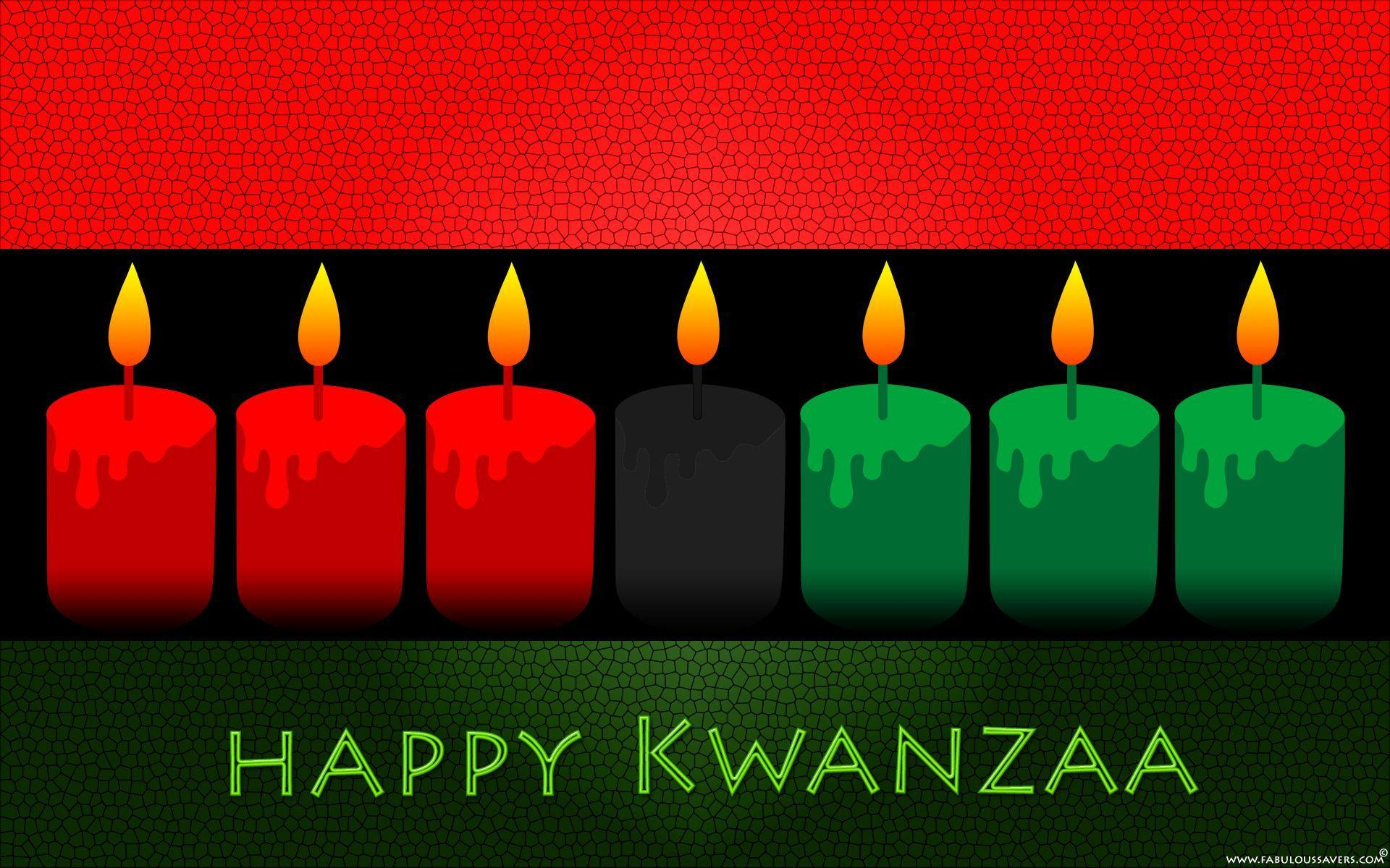 Free Happy Kwanzaa Day computer desktop wallpapers