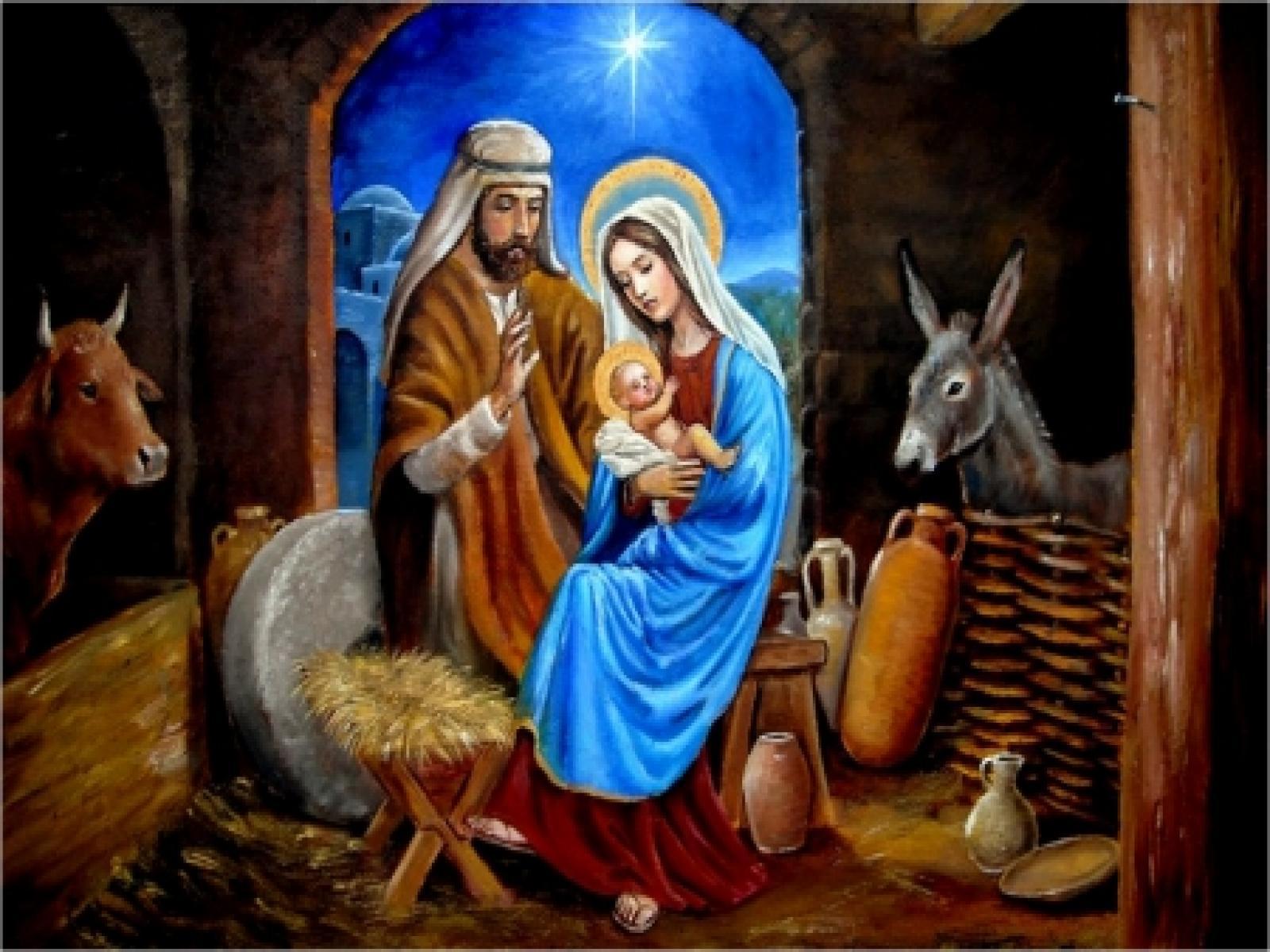 Jesus Born Wallpapers Wallpaper Cave