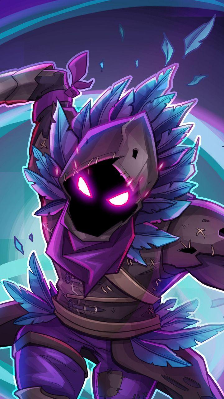 Fortnite Wallpapers : Illustration Description Raven, Fortnite Battle