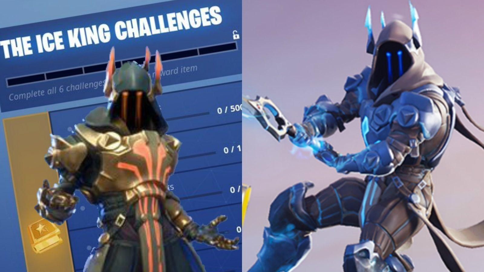 Fortnite Ice King Challenges: How to unlock tier 100 Ice King skin