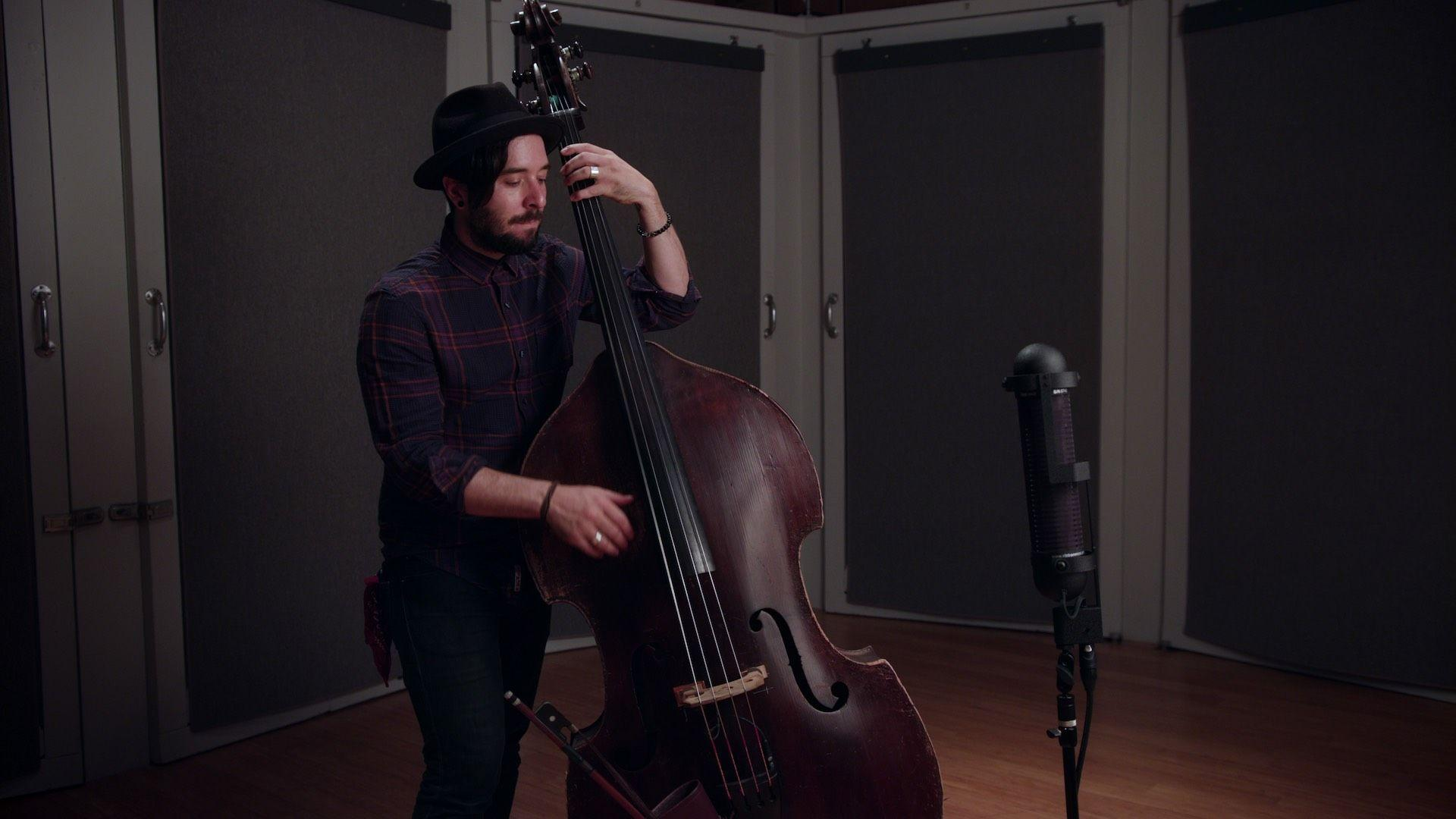 How To Record Double Bass With the R88