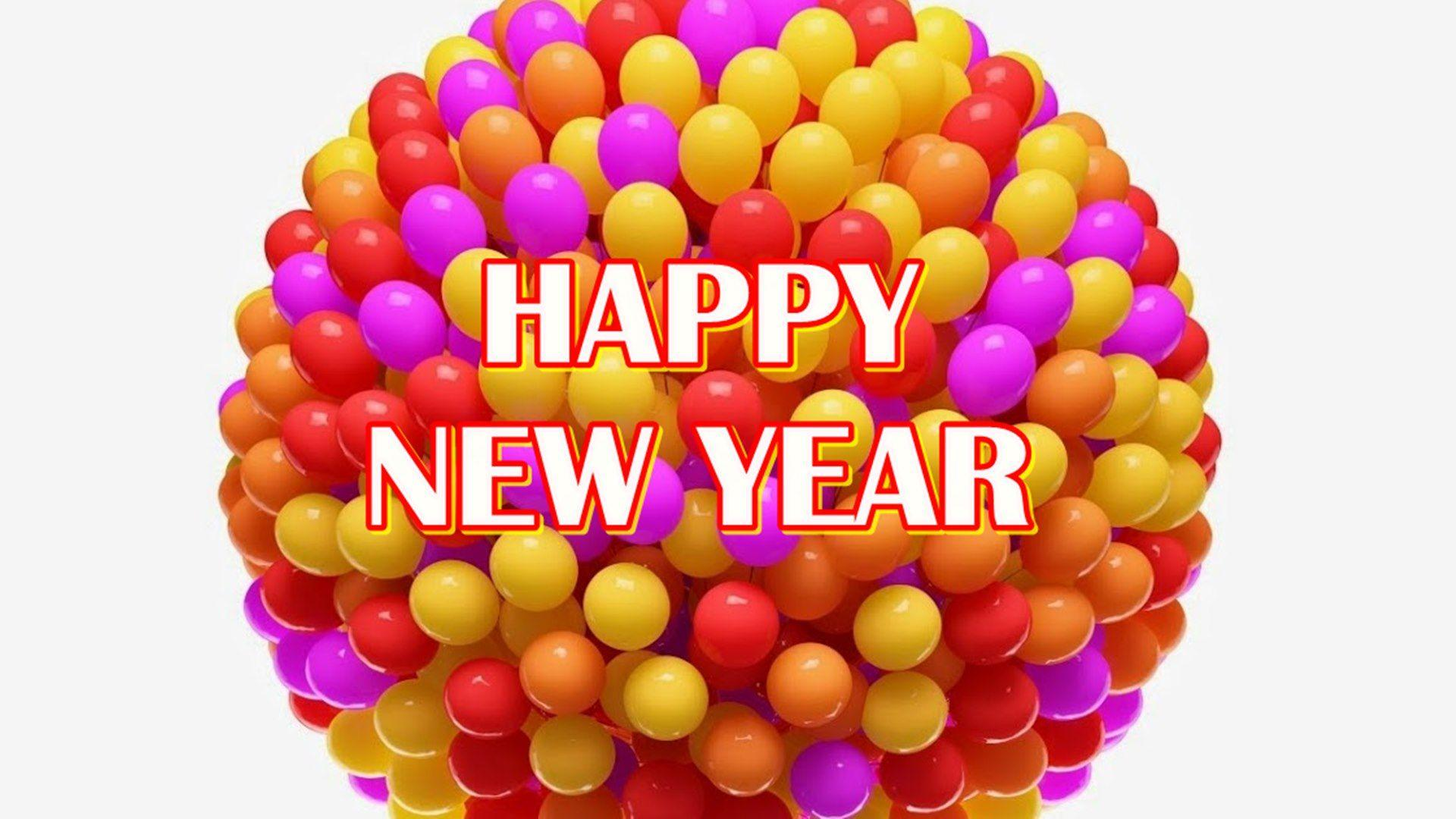 New Year Balloons Wallpapers - Wallpaper Cave