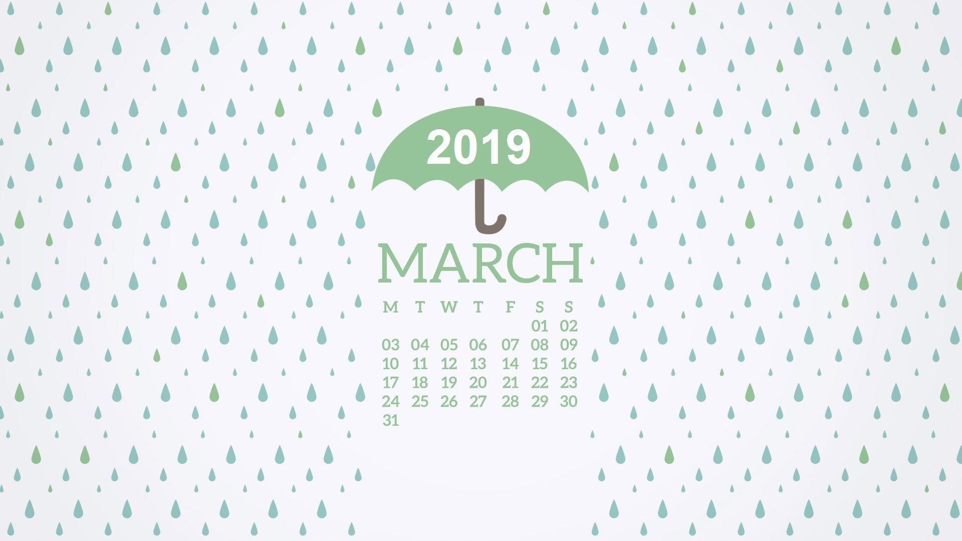 March 2019 Calendar Wallpapers - Wallpaper Cave