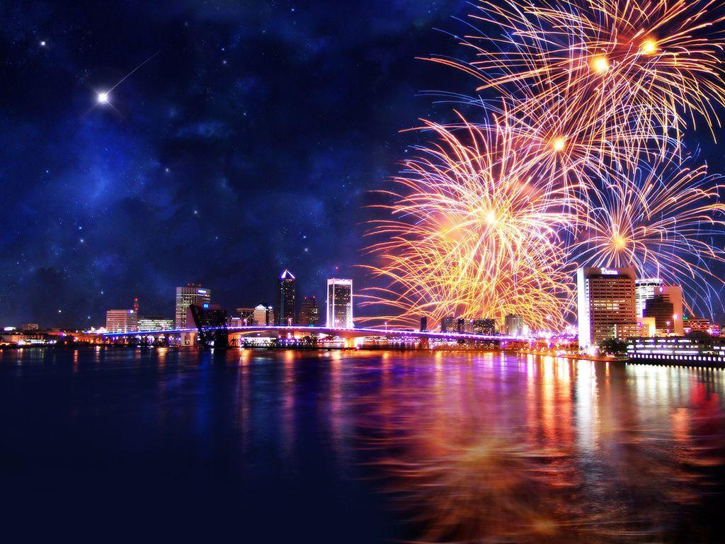 New Year's Eve Fireworks in HD