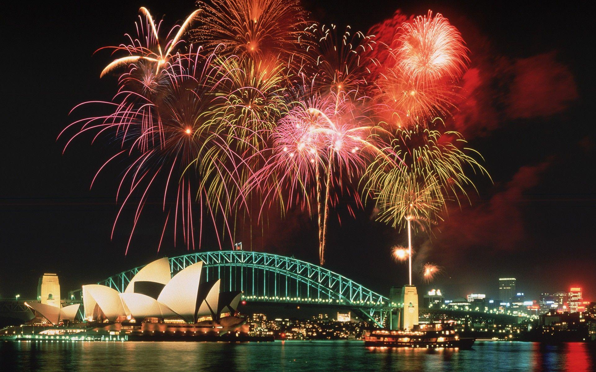 Sydney Opera House New Years Eve Wallpapers Year Time Theme For